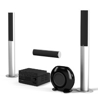 Kef stereo audio home theater system electronics speaker subwoofer player receiver blue ray multimedia hd